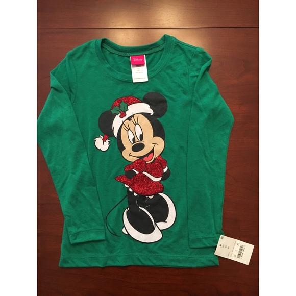 88015e371 Disney Shirts & Tops | Hplast One Minnie Mouse Christmas Shirt ...